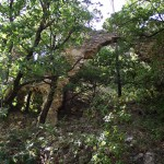 <b>ruine accolée au rempart</b> <br />